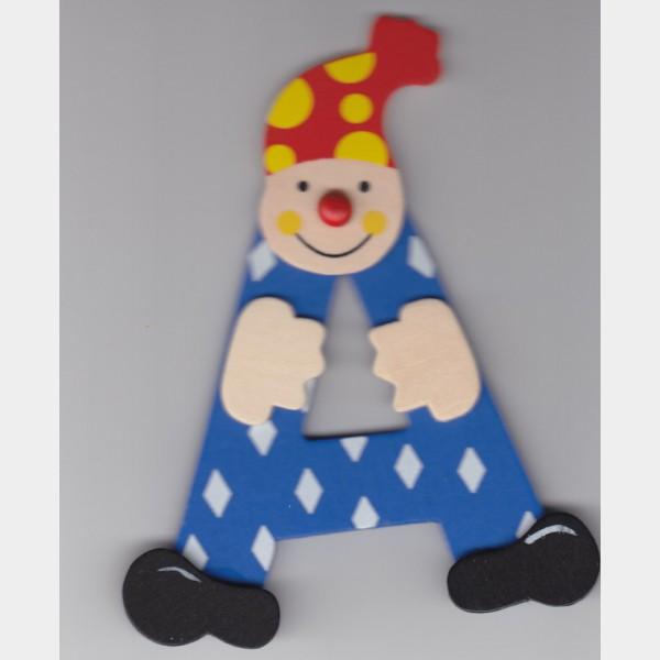 A Lettre Clown Bleu