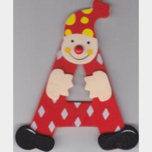 A Lettre Clown Rouge