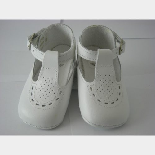 Chaussure Menu Baby shoes blanches pour filles