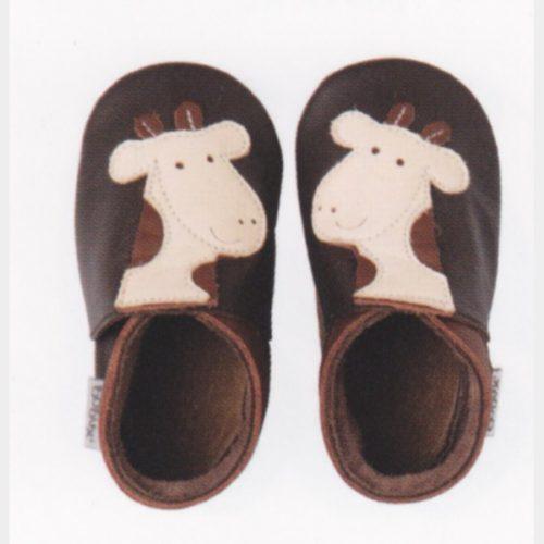 Chaussures Bobux brunes girafe