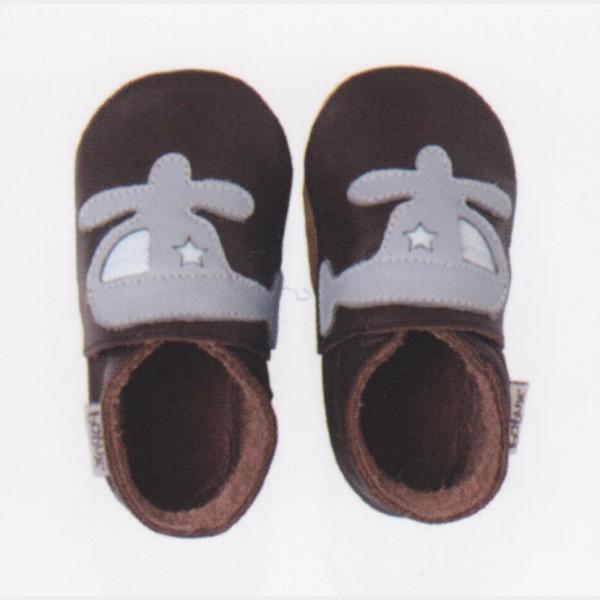 Chaussures Bobux brunes hélico