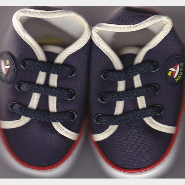 Chaussures cuquito en toile marine