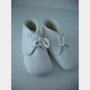 Chaussures souples blanches pour fille
