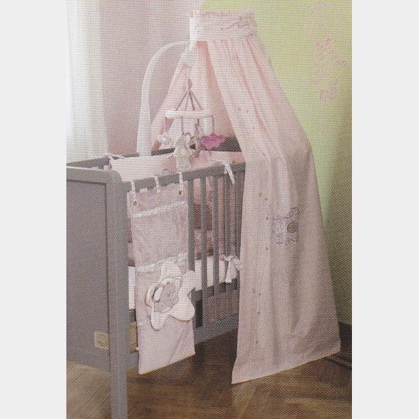 chambre fille ciel de lit 224611 la. Black Bedroom Furniture Sets. Home Design Ideas