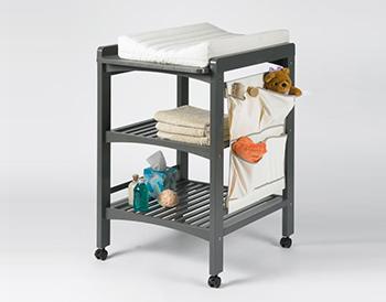 table langer en bois gris la maison de l 39 enfant. Black Bedroom Furniture Sets. Home Design Ideas