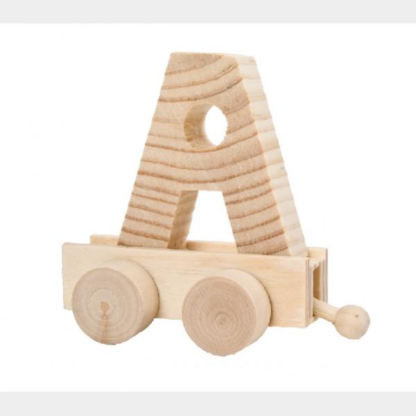 lettre a en bois