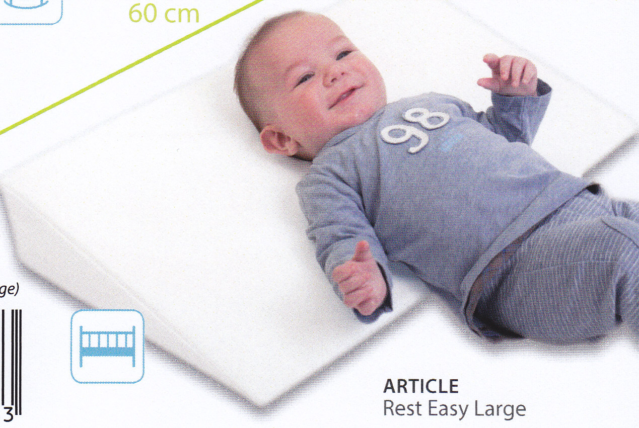 Doomoo basics plan inclin rest easy large la maison de l 39 enfant - Matelas anti regurgitation ...