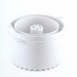pasta rice cooker white