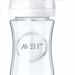 biberon natural 240 ml verre