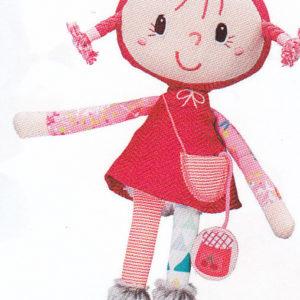 chaperon rouge mini poupee